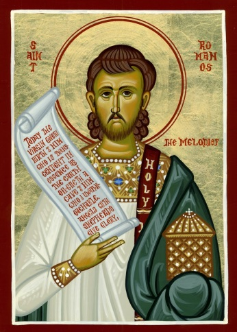 Image result for st romanos the melodist icon